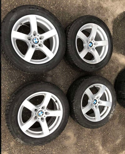 BMW 5 Ratlankiai R17 80eur / vnt
