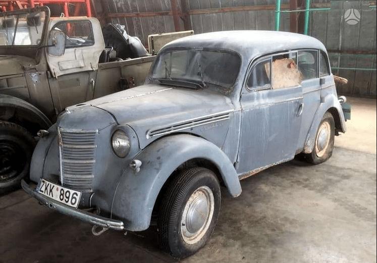 Moskvich 401, 1954m 2100eur