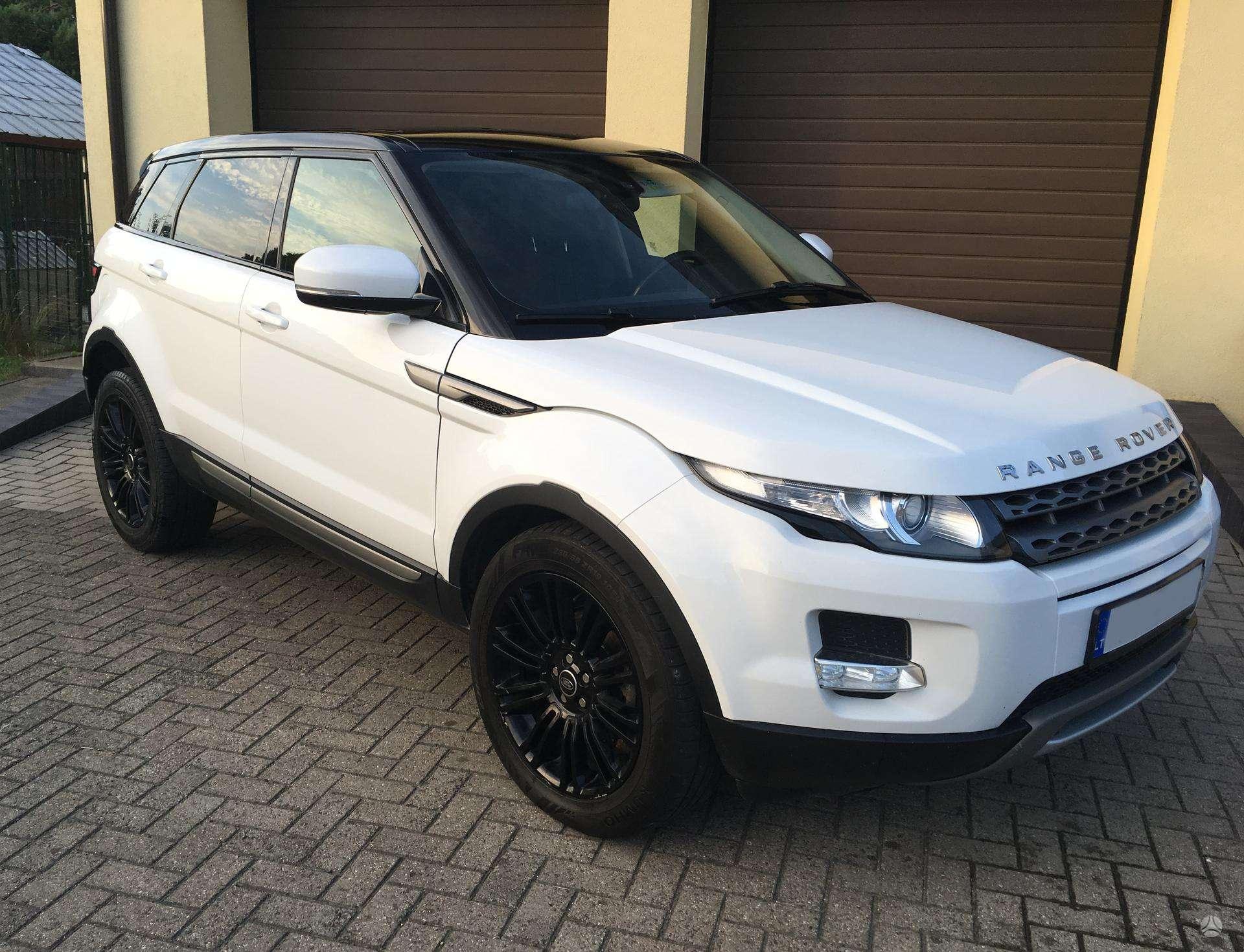 Parduodamas Land Rover Evoque 869974325
